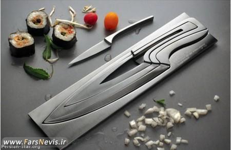 خلاقيت در توليد چاقو