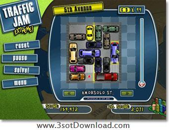 traffic jam extreme sc2 - بازی فکری و سرگرم کننده Traffic Jam