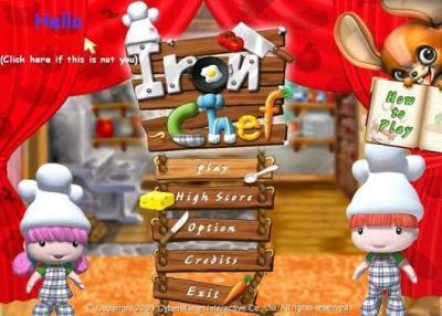 بازی جدید Iron Chef