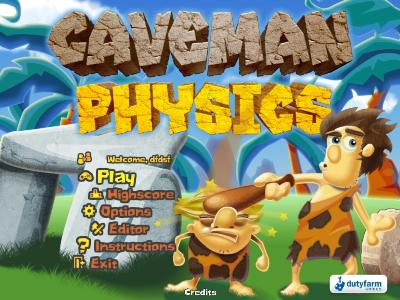 بازی Caveman Physics 2011