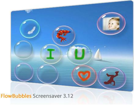 FlowBubbles Screensaver 3.12