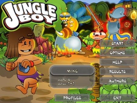 بازی پسر جنگل - Jungle Boy