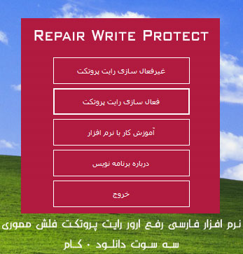 Repair Write Protect