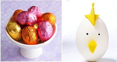 تخم مرغ تزیین شده برای سفره 7 سین
