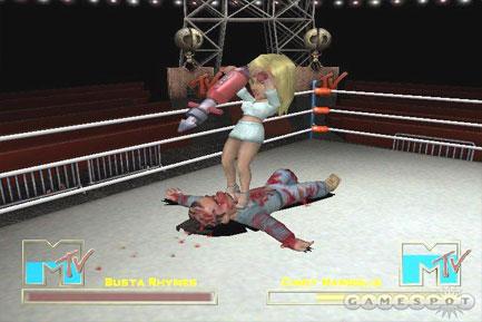 MTV Celebrity Deathmatch - screenshot