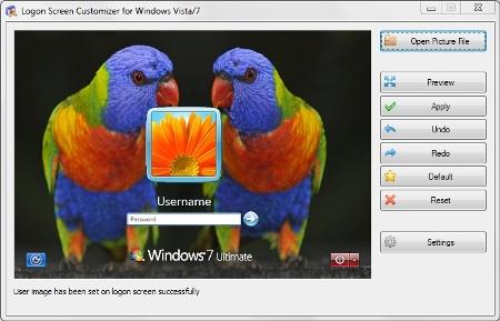 نرم افزار شخصی سازی صفحه خوش آمدگویی ویندوز