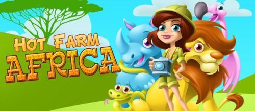 بازی مدیریت باغ وحش Hot Farm Africa