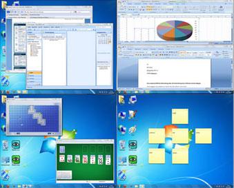 نرم افزار دسکتاپ مجازی Dexpot