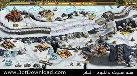 Building the Great Wall of China PC Game