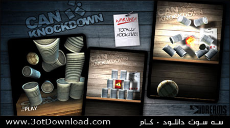 Can Knockdown Android Game