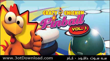 Crazy Chicken Pinball