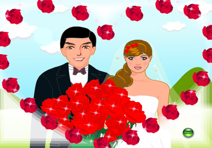 Bride and Groom Flash Game