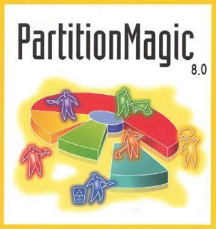 نرم افزار Partition Magic 8.0 Full