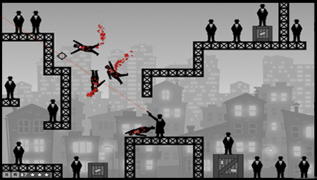 بازی Ricochet Kills Noir برای کامپیوتر