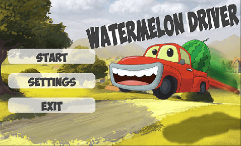 بازی Watermelon Driver برای کامپیوتر