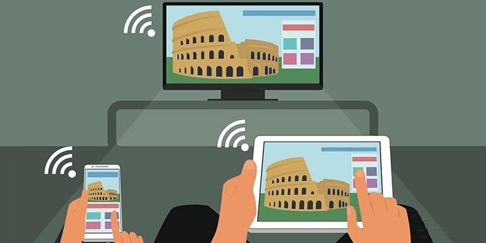 اتصال گوشی به تلویزیون از طریق وای فای