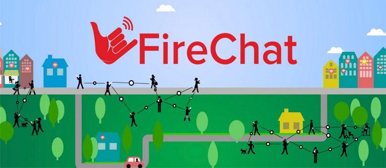 چت بدون نیاز به اینترنت با نرم افزار FireChat اندروید