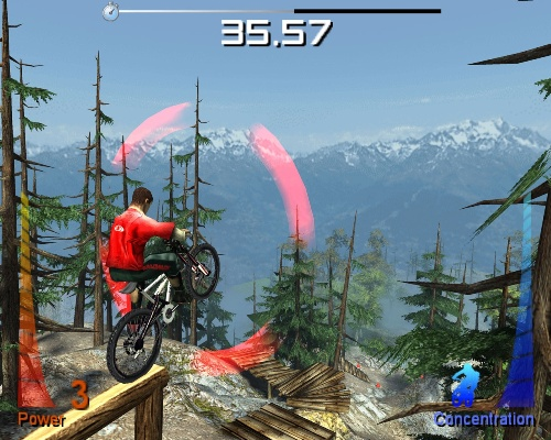 Mountain Bike Adrenaline Screenshot