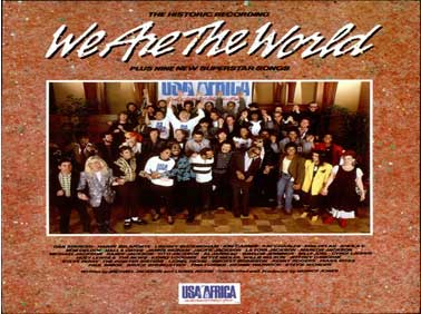 We Are The World  (USA for Africia)