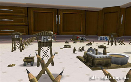 بازی مردان ارتش RTS