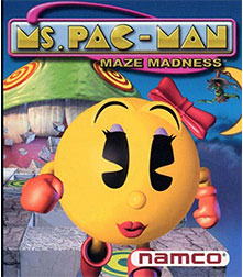 MS. PAC-MAN - Quest for the Golden Maze