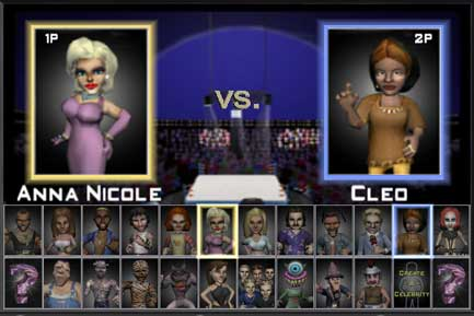 MTV Celebrity Deathmatch - screenshot