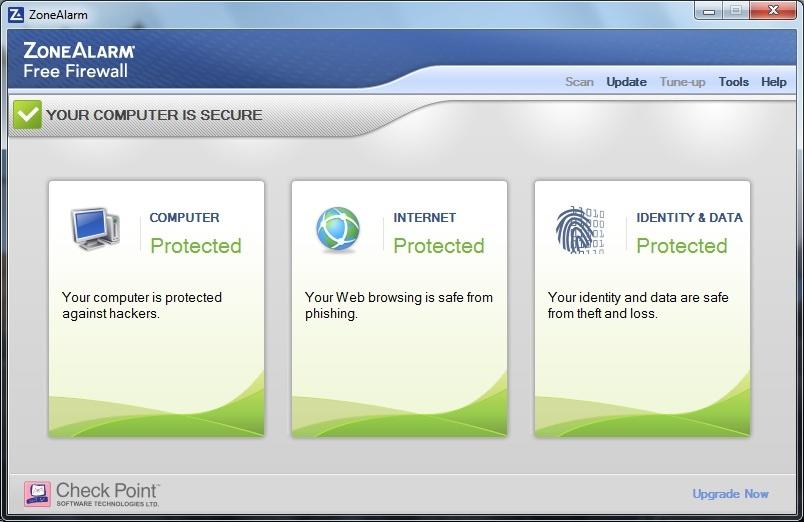 نرم افزار دیوار آتش ZoneAlarm Firewall