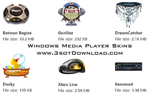 Skins For Windows Media Player