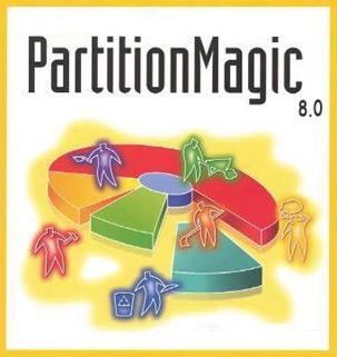 نرم افزار Partition Magic 8.0 Full