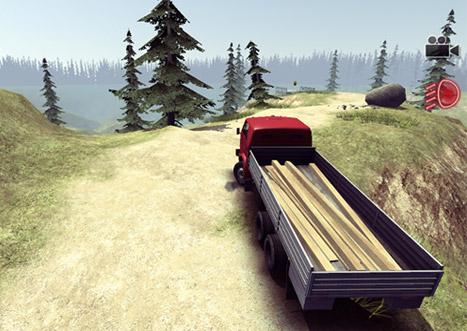 بازی Truck Driver Steep Road برای کامپیوتر