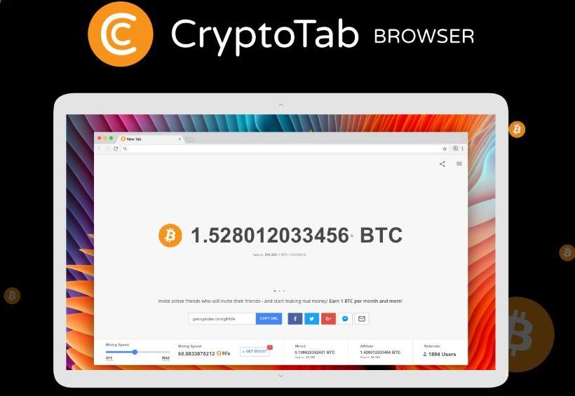 مرورگر CryptoTab