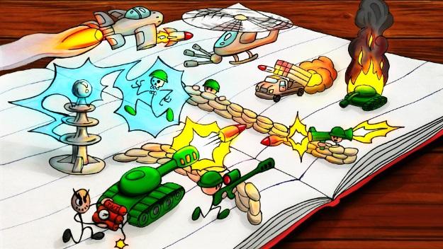بازی Paper War اندروید